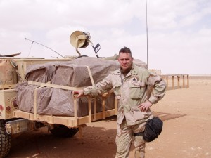 Picture of John Campbell in Iraq